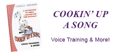 Cookin' Up a Song: Voice Training & More