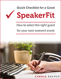 Quick Checklist for a Good SpeakerFit