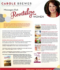 Carole Brewer Bio and Speaking Topics